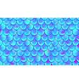 mermaid scales magical fish pattern animal skin vector image