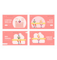 people have relaxing meal time in fastfood vector image