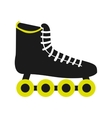 skate sport equipment icon vector image vector image