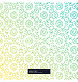 stylish cute flower pattern background flower vector image vector image