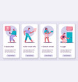 banner onboarding concept vector image