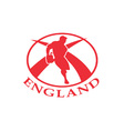 england rugby logo vector image vector image