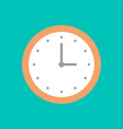 icon hours in a flat style web design vector image