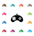 isolated gaming icon videogame element can vector image