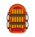 raft row boat icon image vector image vector image