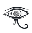 horus eye vector image