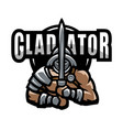 roman gladiator vector image