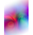 abstract lights colorful background vector image