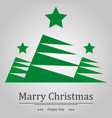 christmas background fir and the words holiday vector image vector image