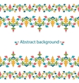 decorative ribbon Seamless strip vector image vector image