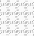 Dotted diagonal bulging waves vector image vector image