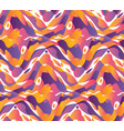 dynamic wavy shapes seamless pattern vector image vector image