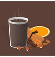 Ingredients for mulled wine vector image vector image