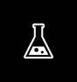 laboratory symbol vector image