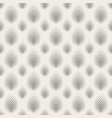 repeating texture with stylized leaves vector image vector image