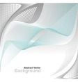 Abstract background in blue grey white colors vector image