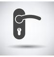 Door handle icon vector image vector image