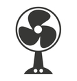 electric fan isolated icon design vector image vector image