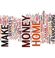 Essential tips to make money at home text