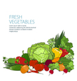 Healthy food fresh raw vegetables