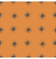 Poisonous Spider Seamless Pattern vector image vector image