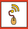 unusual look wifi signal vector image vector image