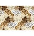 Watercolor vintage floral pattern vector image vector image