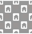 Home seamless pattern vector image vector image