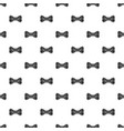 line bow tie pattern seamless vector image vector image