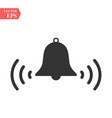 ringing bell iconbell icon art eps vector image vector image