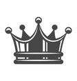 vintage royal crown concept vector image
