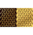 wallpaper patterns vector image vector image