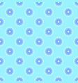 abstract pattern on the cyan background vector image vector image