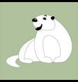 cartoon marmot lining draw vector image vector image