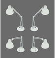 Isometric desk lamp vector image