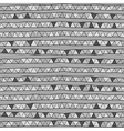 monochrome pattern of triangles on a gray backgr vector image