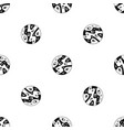 moon pattern seamless black vector image vector image
