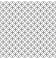 Wired Fence Black Ring Cage on White Background vector image vector image