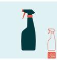 Spray boottle icon vector image