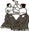 aikido vector image vector image