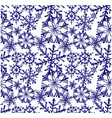 Background snowflake winter vector image