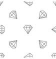 diamond stone pattern seamless vector image vector image