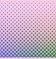 halftone gradient dot pattern background vector image