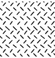 Hand-drawn black and white seamless herringbone