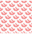 holiday seamless pattern with hand lettering 8 vector image vector image