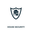 house security icon premium style design from vector image vector image
