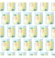 Jar seamless pattern Kitchen background vector image vector image