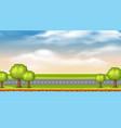 landscape background design river and road