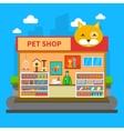 Pets Shop Concept vector image vector image