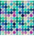 seamless circle polka dots texture vector image vector image